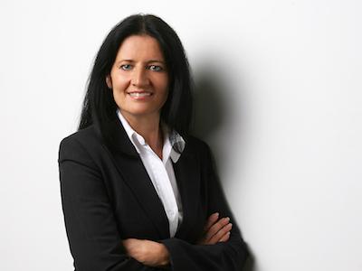 Sabine Ritter smiling